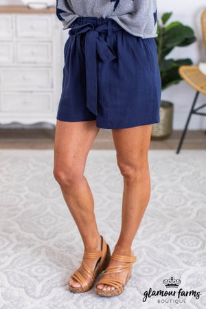 sku11590 | Paper Bag Shorts