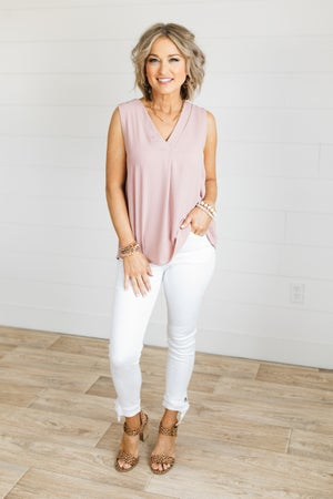 sku20413 | Nature Denim Ankle Tie Skinny Jeans