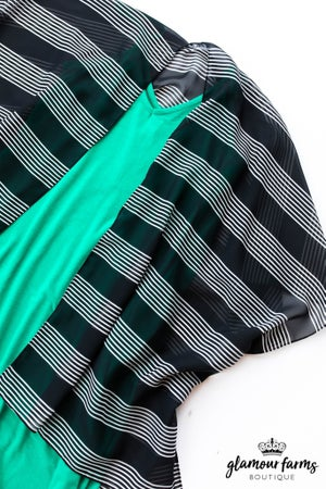 sku12960 | Striped Kimono