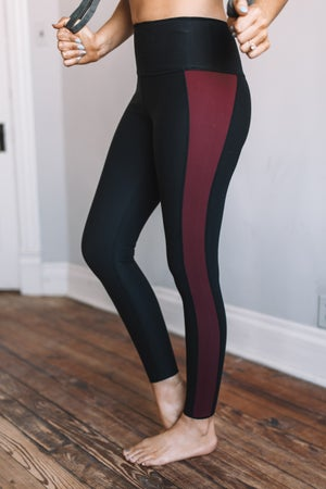 sku18821 | Reversible Color Block Active Leggings