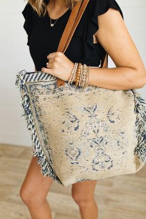 sku20818 | Woven Tapestry Tote Bag