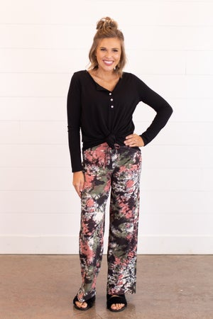 sku16217 | **Daily Deal** Tie Dyed Pajama Bottoms