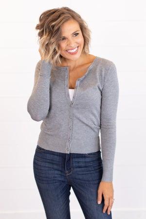 sku16176 | **Daily Deal** Button Up Sweater Cardigan