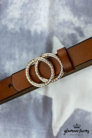 sku12729   Double Ring Buckle Belt