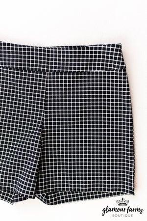 sku12842  Striped Woven Shorts