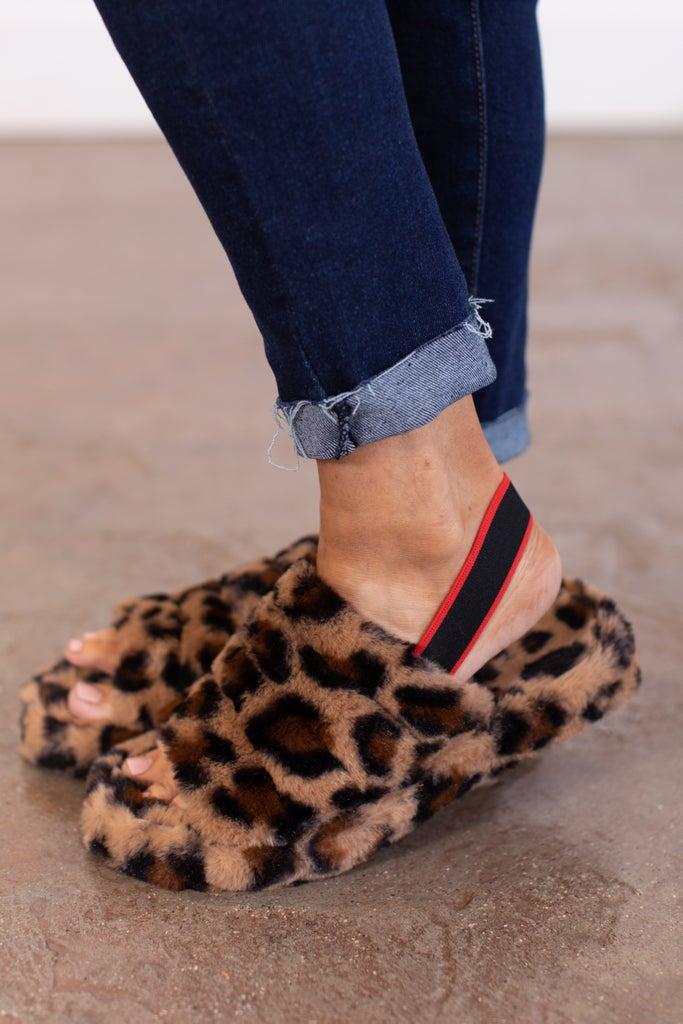 sku15658 | Snuggles Furry Slippers