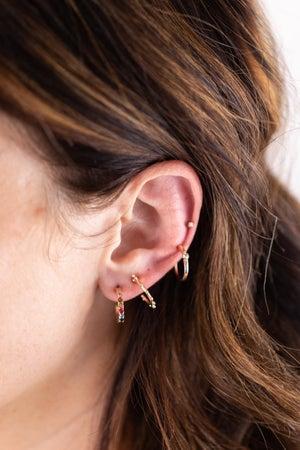 sku17280 | Rainbow Mini Earrings, Set of 5