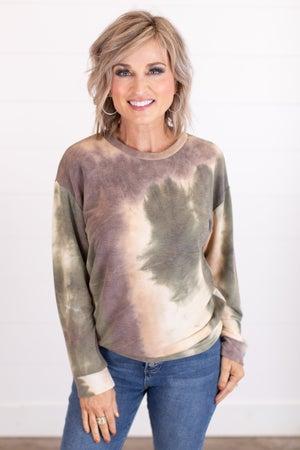 sku17321 | Tie Dyed Sweatshirt