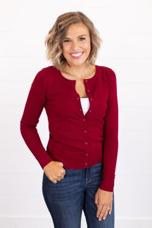 sku16176 | **Daily Deal** Button Up Sweater Cardigan