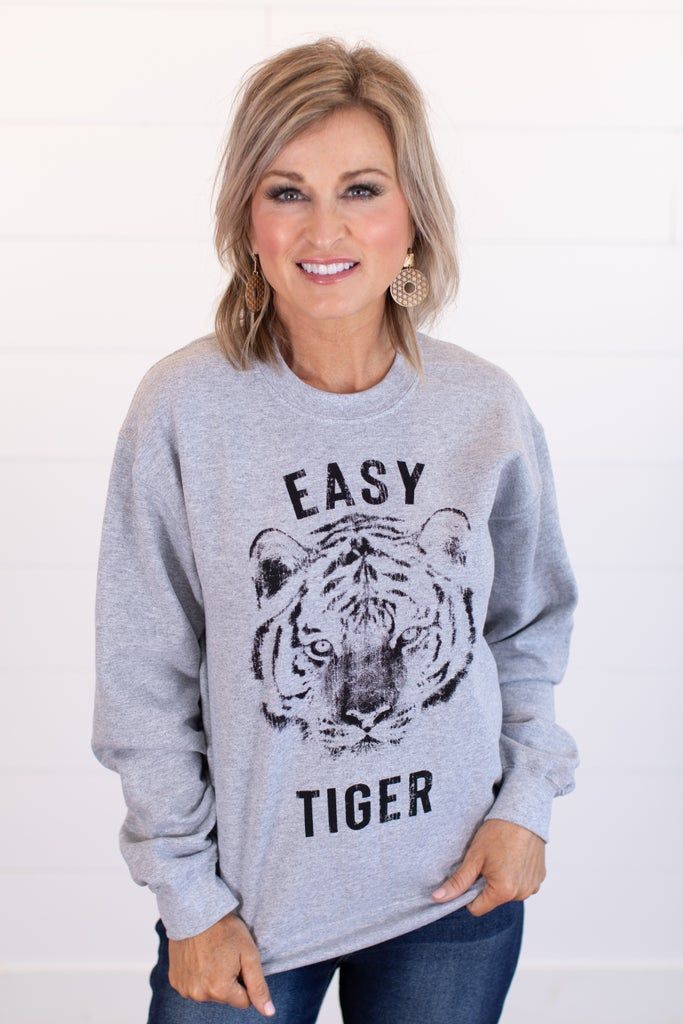 sku15698 | Easy Tiger Graphic Sweatshirt