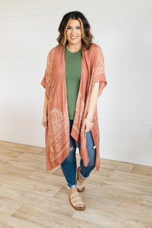sku21327 | Mandala Print Kimono