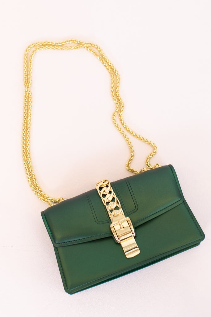 sku16930 | Bucklet Crossbody Handbag
