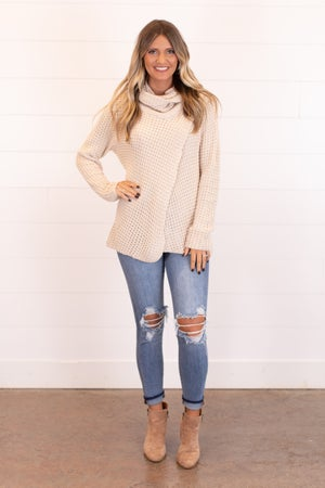 sku16976 | Side Button Sweater