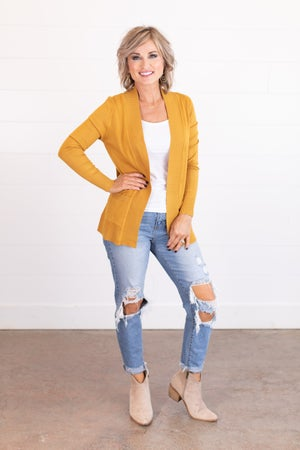 sku17334 | **DOORBUSTERS** Butter Soft Sweater Cardigan