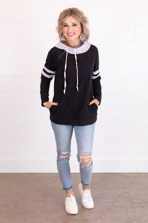 sku15960 | Double Hoodie Pullover