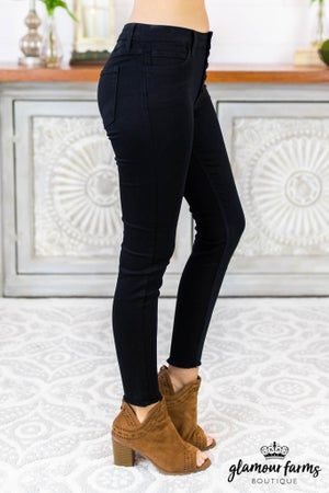 Kennedy Button Skinny Jean