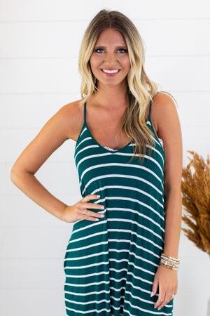 sku15239 | **Daily Deal** Striped Cami Maxi Dress