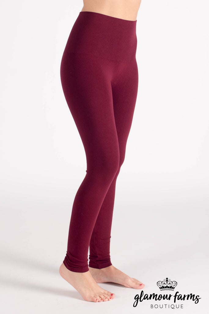 sku015m | Ahh-mazing Tummy Tuck Ankle Legging