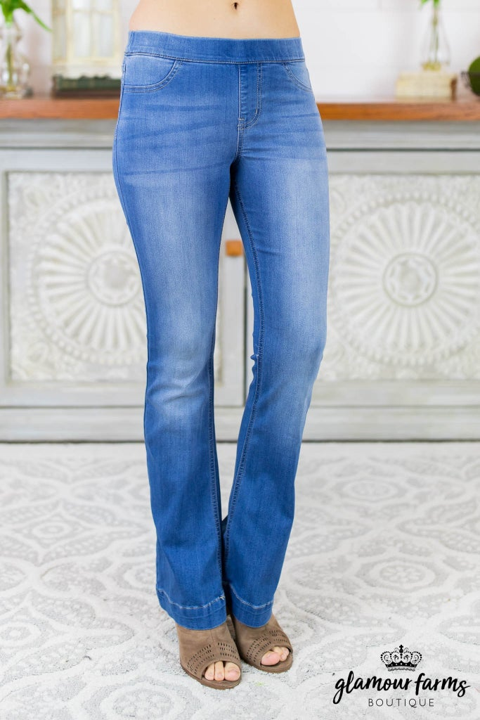 Back In Style Flare Jegging