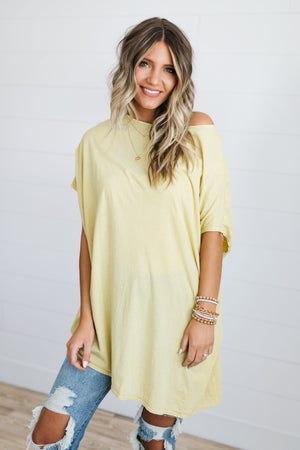 sku18641   Mineral Washed Asymmetrical Tunic