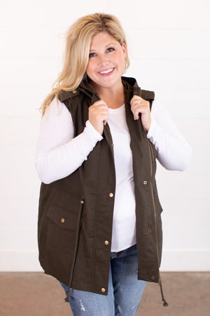 sku16321 | **Daily Deal** Hooded Utility Vest
