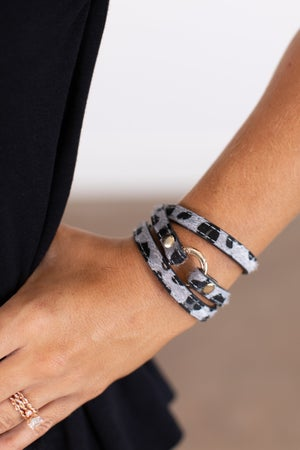 sku16243 | Animal Print Wrap Bracelet