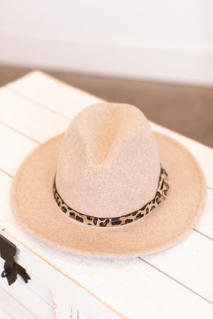 sku16245 | Belted Fedora Hat