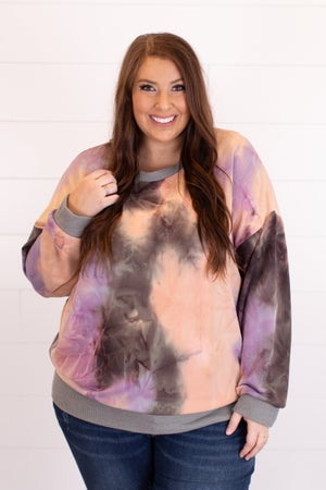 sku17202 | Tie Dyed Banded Top