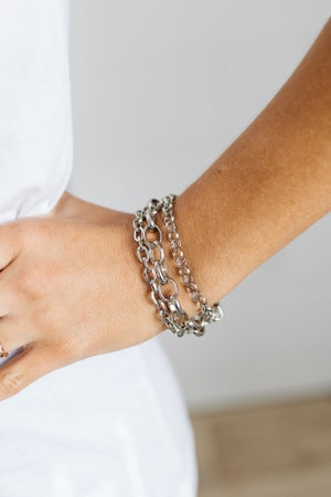 sku19637   Multi Link Chain Bracelet