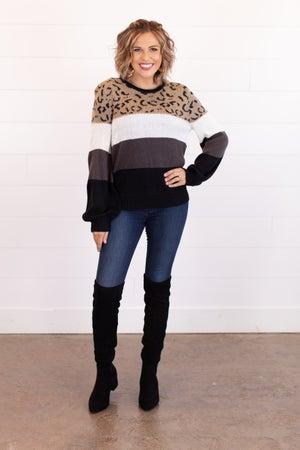 sku16945 | Color Block Sweater