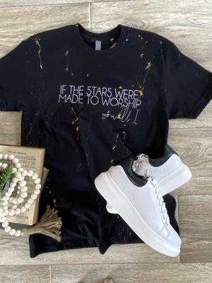 sku19945 | If The Stars Splattered Graphic Tee