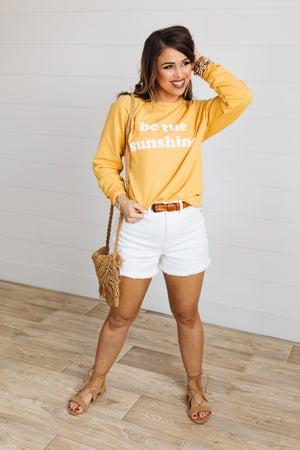 sku19885 | Be The Sunshine Graphic Sweatshirt