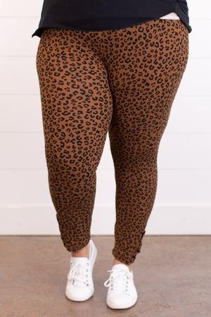 sku17647 | Animal Print Criss Cross Leggings