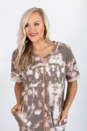 sku15567 | Tie Dye Tee Shirt Dress