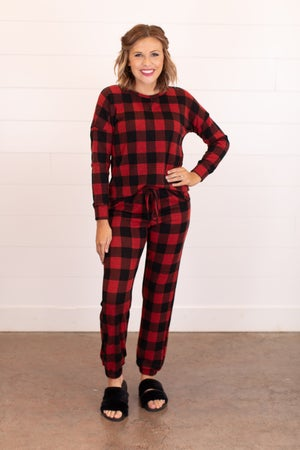 sku16477 | Buffalo Plaid Pullover
