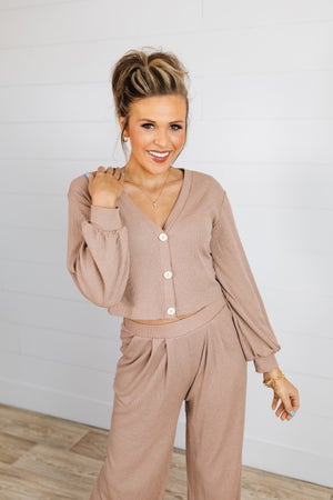 sku18882 | **Daily Deal** Cropped Cardigan Top