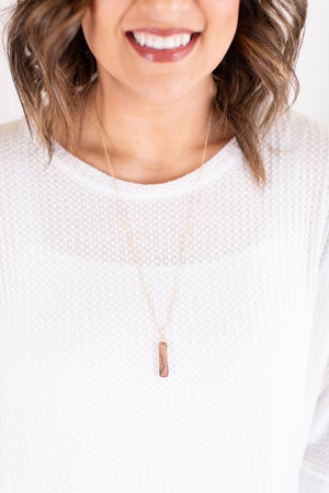 sku17249   **Daily Deal** Natural Stone Pendant Necklace