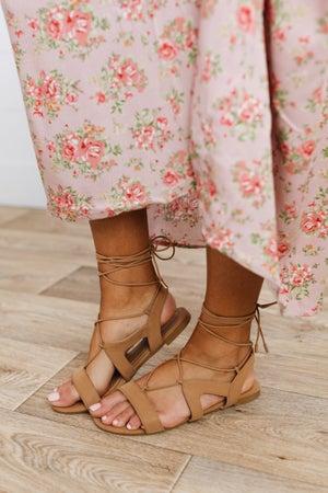 sku19345 | Lace-Up Gladiator Sandal