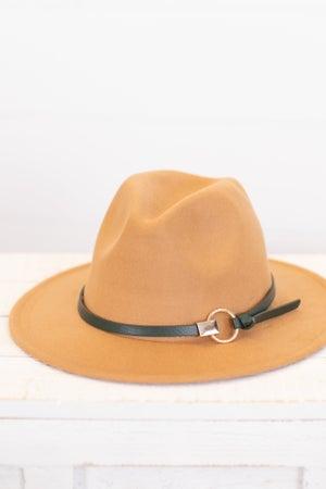 sku16237 | Belted Fedora Hat