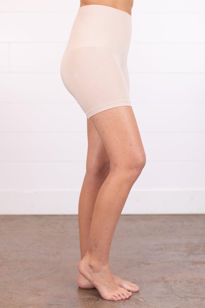 sku011m | Ahh-mazing Tummy Tuck Short Seamless Shorts