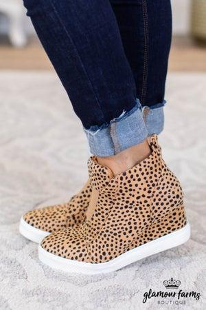 sku9433 | Zoey Wedge Sneaker