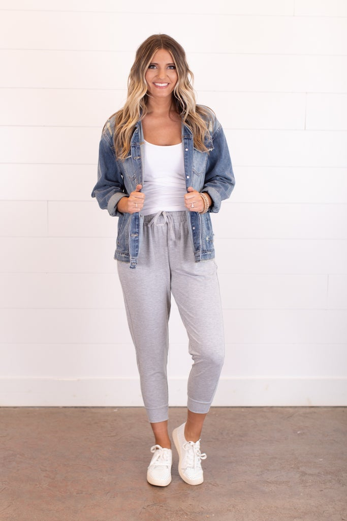 sku17831 | **Daily Deal** Capri Jogger Sweatpants