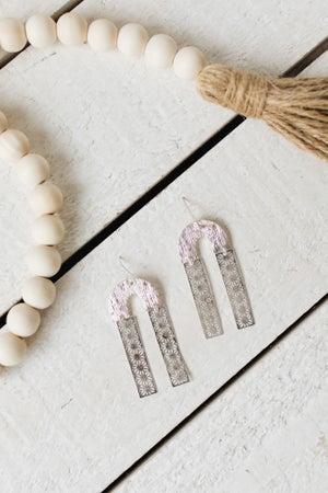 sku19867 | Dangle Arch Earrings