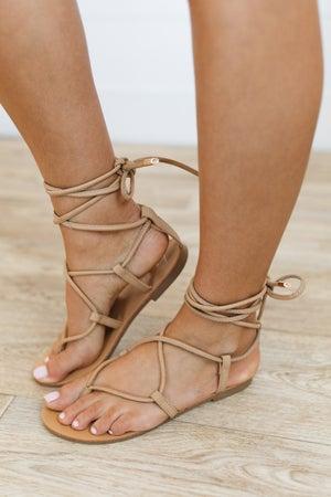 sku20633 | Max Lace-Up Gladiator Sandal
