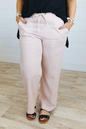 sku20545 | Linen Drawstring Pants