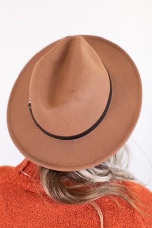 sku16937 | Belted Fedora Hat