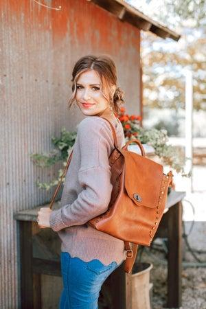 sku15837 | Studded Backpack