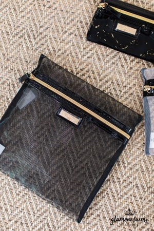 sku14012 | 3-PC Cosmetic Bag Set
