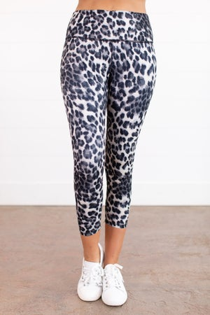 sku15983 | **Daily Deals** Animal Print Capri Yoga Leggings