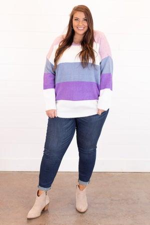 sku15888 | Color Block Sweater